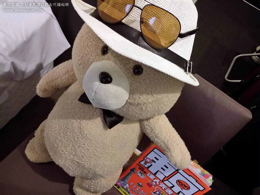 ▲ 最近小編在東京旅遊時夾回來的 TED... 現在日本很多人為牠瘋狂!